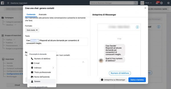Chatbot-facebook-Messenger-Step 3